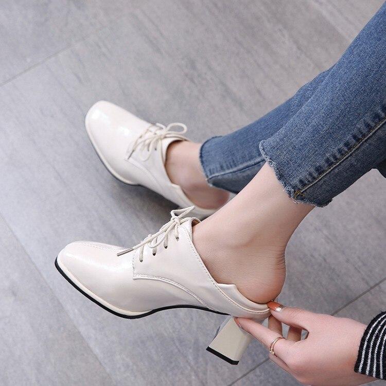 LMCAVASUN/женские туфли-оксфорды; обувь на высоком каблуке; женские кожаные кроссовки; женские винтажные повседневные туфли-оксфорды; женская о...