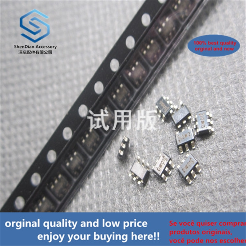 50pcs 100% Orginal New Best Quality DW01 SMD Transistor SOT23-6 Lithium Battery Protection Chip Code DW01 SOT-163 6 Pin