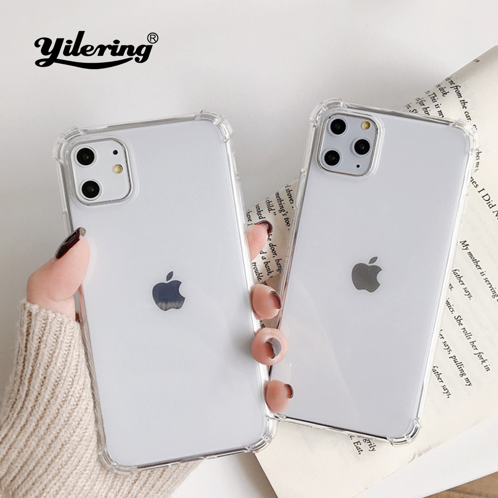 Explosion-proof anti-fall Soft Case for Apple iPhone 11 Pro Max XR XS Max X Phone case for iPhone 8 7 6 S 6S Plus 5 5S SE 2 Case image
