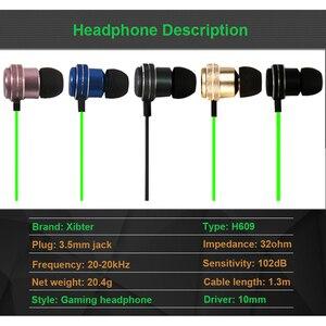 Image 2 - Kablolu kulakiçi özel ayarlı çift sürücü In Line Mic ses kontrolü alüminyum çerçeve dolaşmayan düz kablo Stereo çinde kulaklıklar