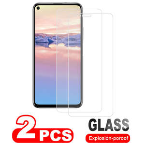 2 pcs Screen Protector Glass for Huawei Honor 20 20pro P20 P10 Tempered Glass for Honor 8S 8C 7X 7A Y6 5A 10 lite Y62018