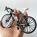 Сумасшедшая Волшебная модель велосипеда из сплава в масштабе 1:10, модель велосипеда, сгибающийся дорожный гоночный мини-игрушечный велосип...