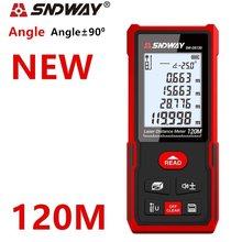 SNDWAY New Smart Laser Rangefinder Laser Distance Meter Electronic Roulette Digital Ruler Trena Laser Tape Measure Range Finder