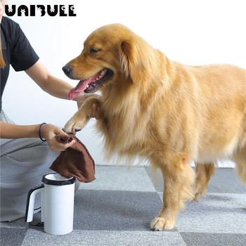 Szczotka do czyszczenia łapy psa szczotka do pielęgnacji zwierzęcia zapobieganie rozpryskiwaniu wody przenośna podkładka z miękkiego silikonu do stóp psa łapa do czyszczenia tanie i dobre opinie CN (pochodzenie) Z tworzywa sztucznego 07186