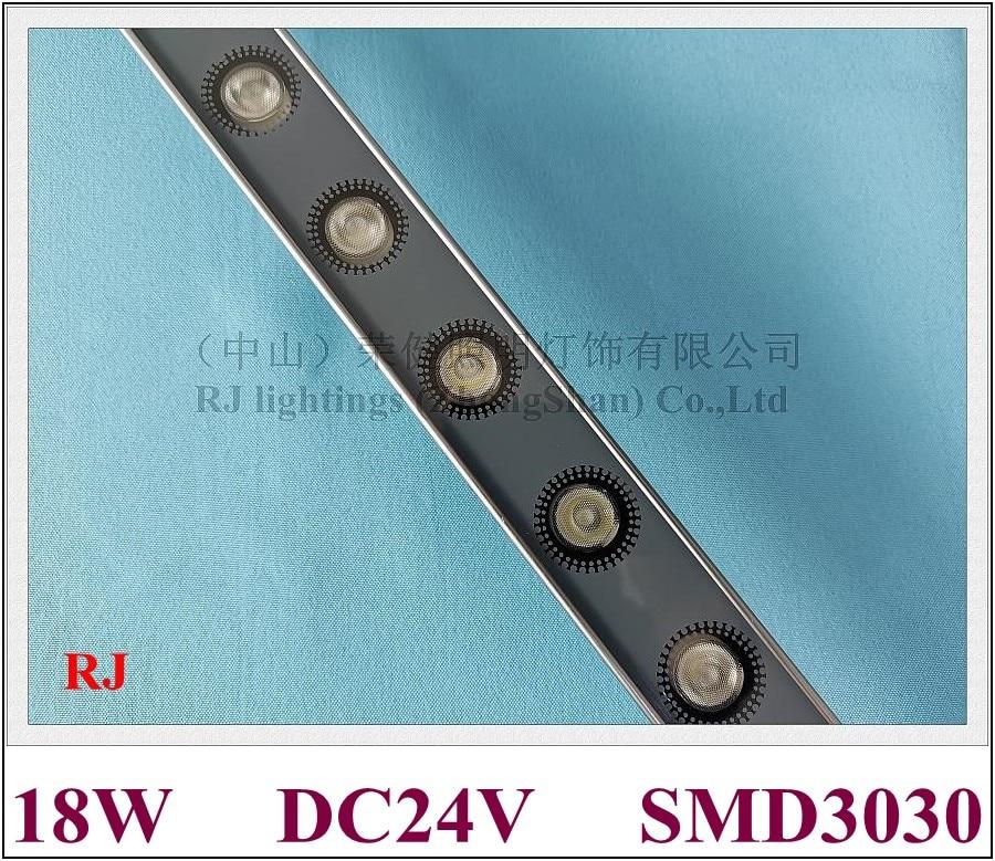 LED wall washer SMD wash wall LED advertising light flood lamp DC24V aluminum SMD3030 18 LED 18W 1000mm*40mm*25mm 2020 NEW styleOutdoor LED Wall Washers   -