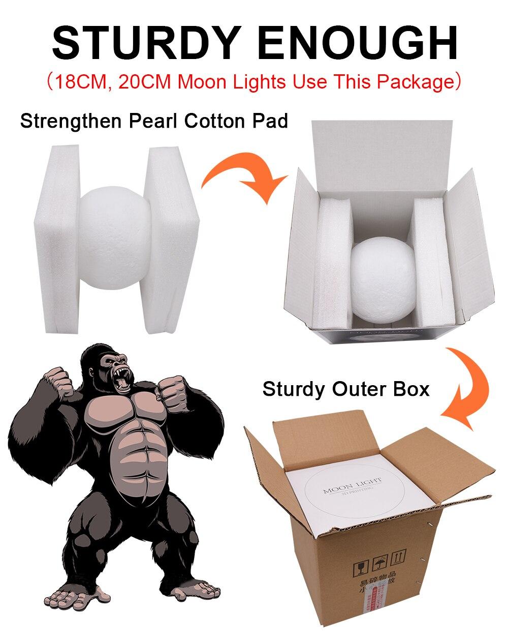 The Original 3D Moon Lamp 2