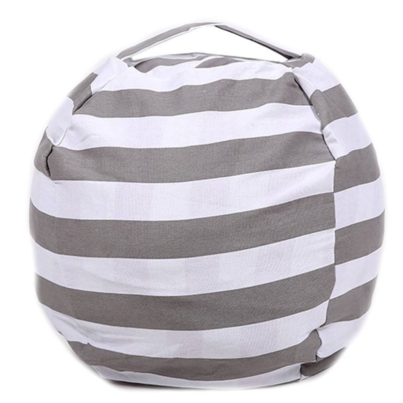 Stuffed Animal Toy Storage Bean Bag Stuffed Child Plush Toy Storage Bag Multipurpose Large Capacity