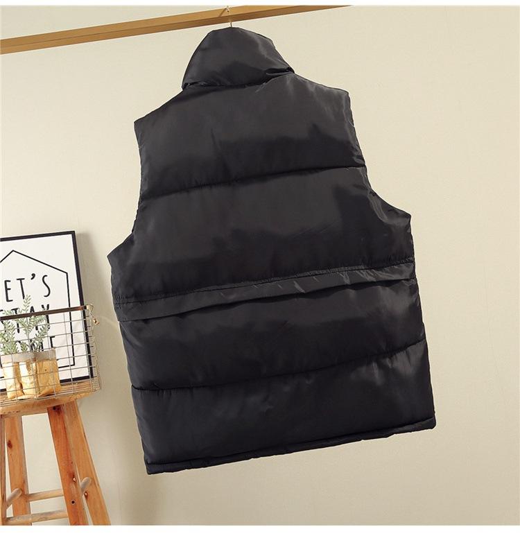 Cotton vest female short paragraph 2020 new autumn and winter loose bread vest vest jacket tide  women winter sleeveless coats