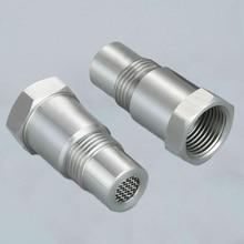 Аксессуары кислородный датчик адаптеры Запчасти для инструментов 2 шт. конвертер O2 CEL 304 нержавеющая сталь прочный