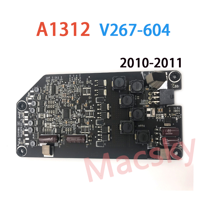 Marca Original Novo A1312 Display LED Backlight Inverter Board V267-604 Para iMac 27