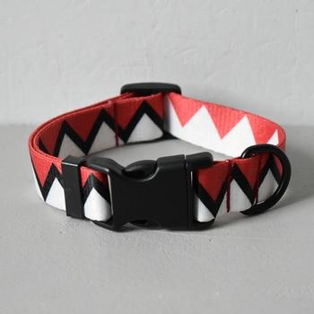 Collier et laisse dents de requin