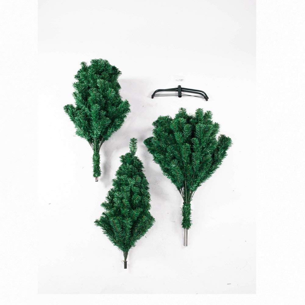 7 футов 1100 ветка Рождественская елка прочная и долговечная шифрование Рождественская елка украшение - 5