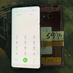 Image 2 - نقطة كبيرة كبيرة خط كبير حرق لسامسونج غالاكسي S9 S9 + G965F G965W محول الأرقام بشاشة تعمل بلمس شاشة الكريستال السائل لسامسونج G965 G965U G960