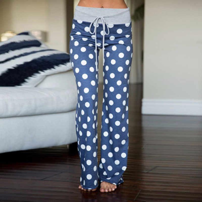 2019 睡眠底女性のコットンロングパンツホームパジャマソフトスリップ夏パンツ巾着ビッグサイズセクシーな花カジュアルパジャマ