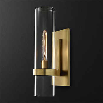 Nordic Luxurious Wall Lights Glass Shade Gold/Black Wall Lamps for Bedroom Bedside Living Room Restaurant Fixtures Led Sconces - DISCOUNT ITEM  24 OFF All Category