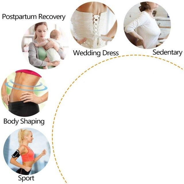 Men Women Neoprene Waist Trimmer Belt, Weight Loss Sweat Bands Tummy Sauna Sweat Belts Gym Sports Fitness Accessories 5