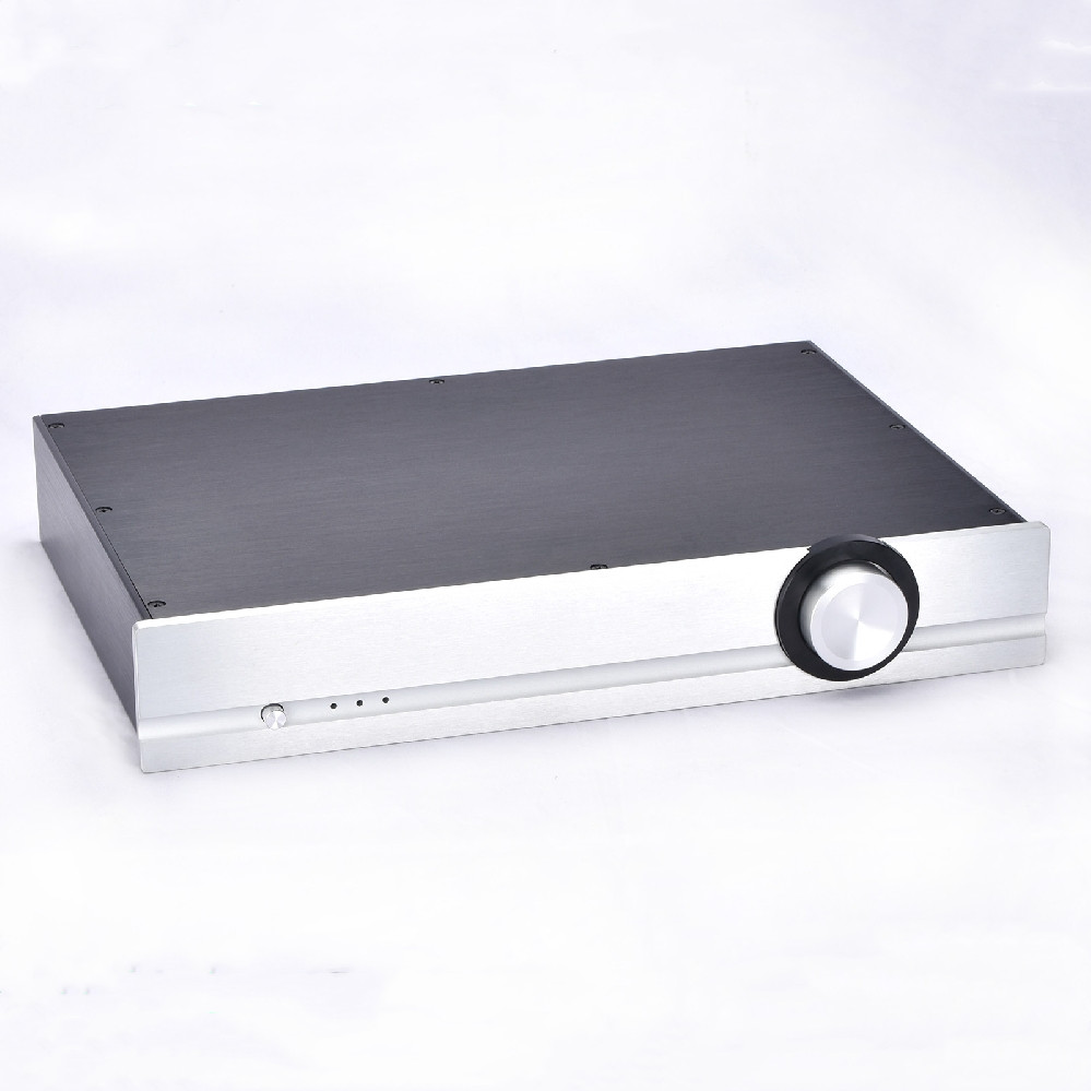 4307 Full Aluminum PASS Preamplifier Enclosure Case Amplifier Chassis With Knob