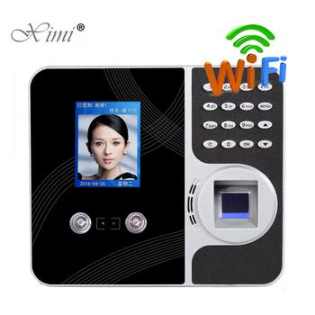 Rozpoznawanie twarzy rozpoznawanie linii papilarnych TCP IP WIFI czas obecności System nagrywarka zegarowa pracownik cyfrowy czytnik tanie i dobre opinie ximiir CN (pochodzenie) F491 Biometric Time Recording 1000 5000 300000 5V 0 5A
