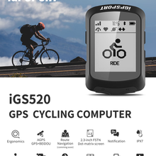 GPS Cycling Igpsport Igs520 Computer Sensors Riding with FSTM Dpt-Matrix-Screen Waterproof