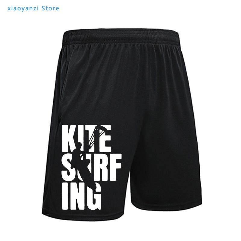 EAT SLEEP KITESURF Shorts Kitesurfing Boarding Surfinger Cool Men Casual Shorts Gift Waist Summer Beach Shorts Sportswear