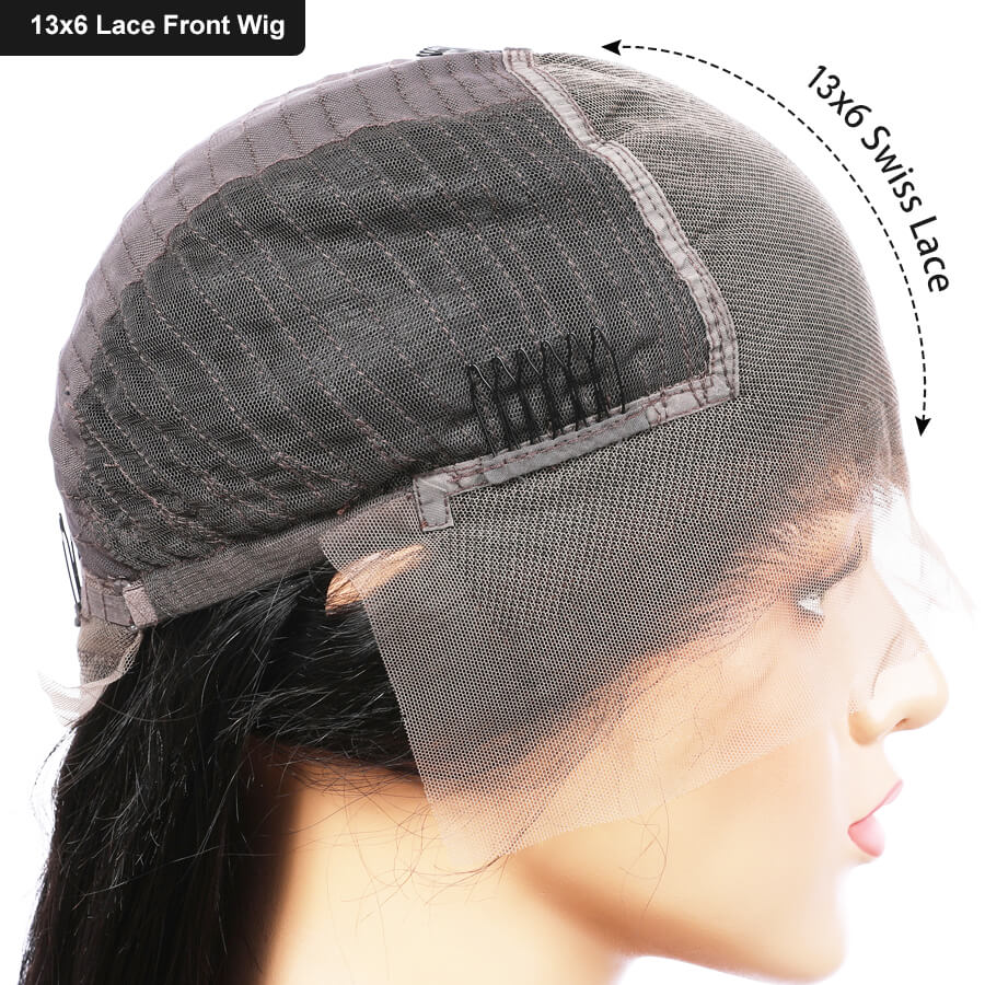 Image 5 - Elva 13x6 Lace Front Human Hair Bob Wigs For Black Women Pre Plucked With Baby Hair Curly Short Lace Front Wigs Remy Hair Wigs-in Human Hair Lace Wigs from Hair Extensions & Wigs