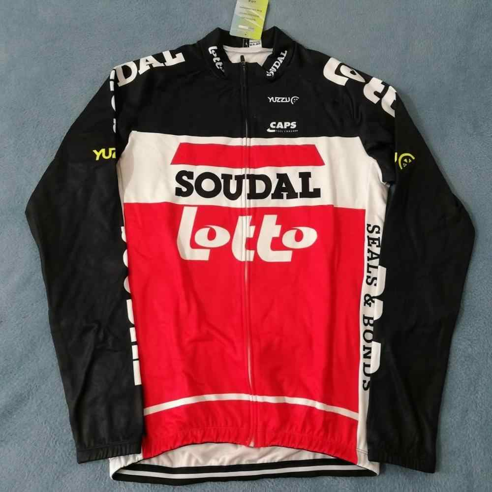 """LOTTO SOUDAL 2020 cycling jersey winter thermal /""""NEW/"""""""