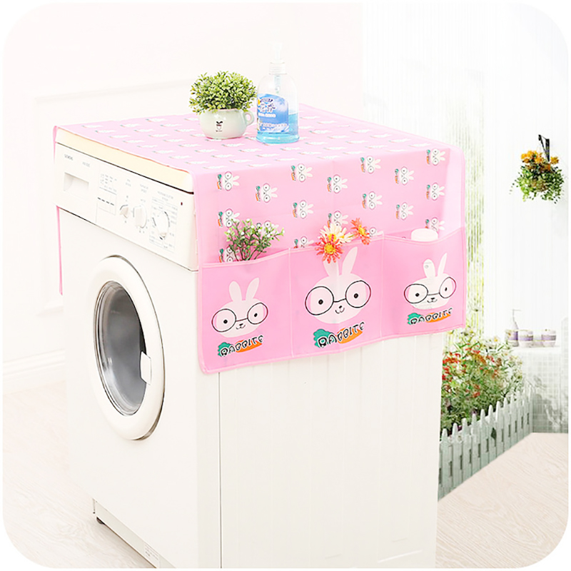 High Quality PEVA Washing Machine Cover Dust Proof Washing Machine Coat Water Proof Cover Refrigerator Cover Housing Accessories|Washing Machine Covers| |  - title=