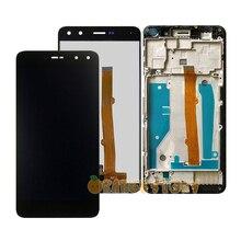 עבור Huawei Y5 2017 Y6 2017 MYA L41 L22 L11 U29 LCD תצוגת צג מסך מגע חיישן זכוכית מסגרת עבור huawei Y5 Y6 2017 MYA L41
