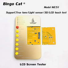 Pantalla LCD DL100 para iPhone, probador de pantalla LCD, caja de herramientas, placa PCB, pantalla táctil, prueba táctil 3D, para iPhone X, XR, XS, 11pro max, 6s, 7, 8