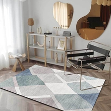 цена на Nordic Style Living Room Carpet and Rug Bedroom Bedside Floor Mat Abstract Simple Geometric Livingroom Kitchen Non-Slip Area Rug