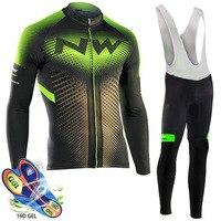 NW Cycling Jersey 2020 Pro Team Cycling Clothing Triathlon Cycling Set MTB Ropa Ciclismo Hombre Northwave Cycling Bib Pants Set|Cycling Sets| |  -