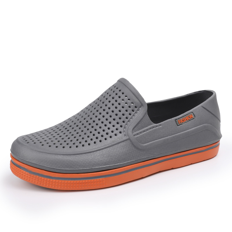 2020 New Mens EVA Sandal Cave Double Color Garden Shoes High Quality Breathable Clogs Lightweight 3 Colours