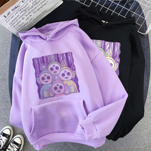Women's Fun Hoodie Cotton Cartoon Cute Printed Harajuku Korean Clothes Super Dalian Hoodie Ladies Top