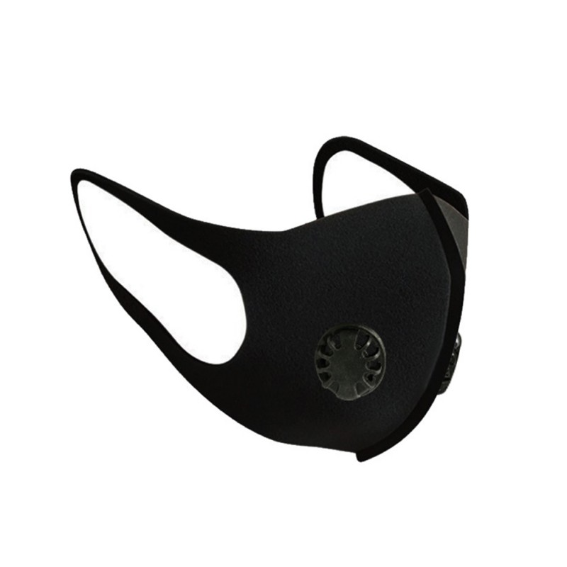 1Pc Face Mask Dust Mask Anti Pollution Mask PM2.5 Activated Carbon Filter Insert Washable Reusable Mouth Masks