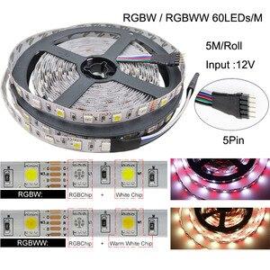 5m-100m WiFi/IR/2,4G сенсорный светодиодный ленточный светильник RGB SMD 2835 5050 RGBW/RGBWW 60 светодиодов Светодиодная лента DC 12V + пульт дистанционного управл...