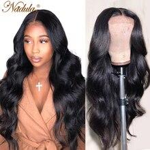 Perruque Lace Frontal Wig Body Wave brésilienne – Nadula, cheveux naturels, brun moyen, HD, 13x4/13x6, pour femmes