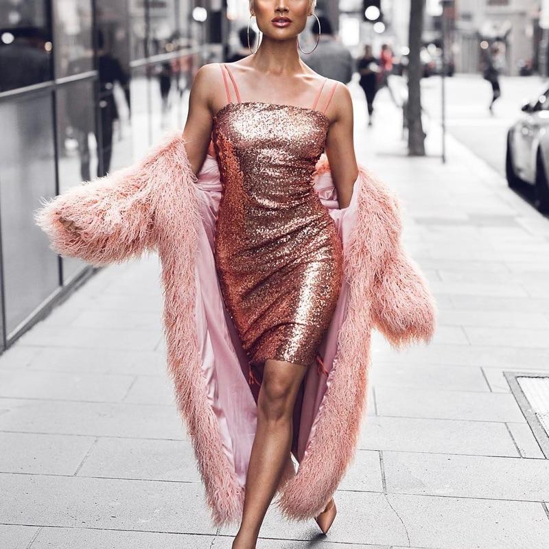 Solide couleur rose fourrure fausse fourrure manteau femmes moelleux chaud à manches longues vêtements de dessus pour femmes automne hiver manteau veste poilu pardessus