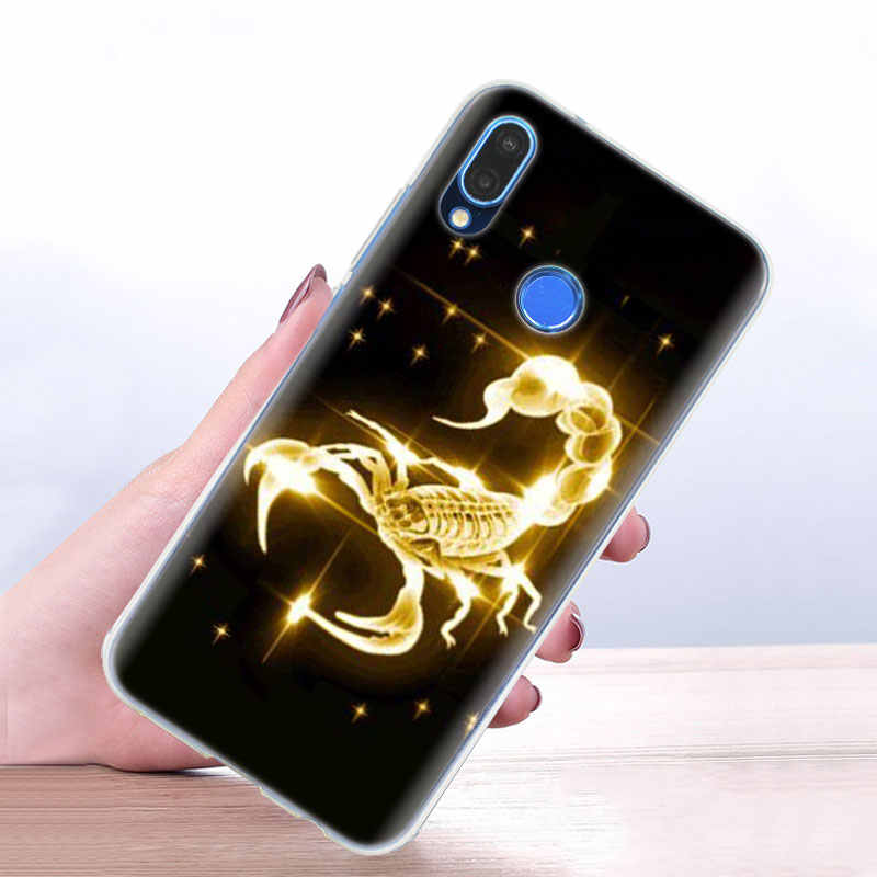 ซิลิโคน Coque สำหรับ Huawei Honor 8X 8A 9X 9C 9A 9S 10 Lite 20 Pro 20S 20i 30 30S Play สัตว์ปูแมงป่องโทรศัพท์ SHELL COVER