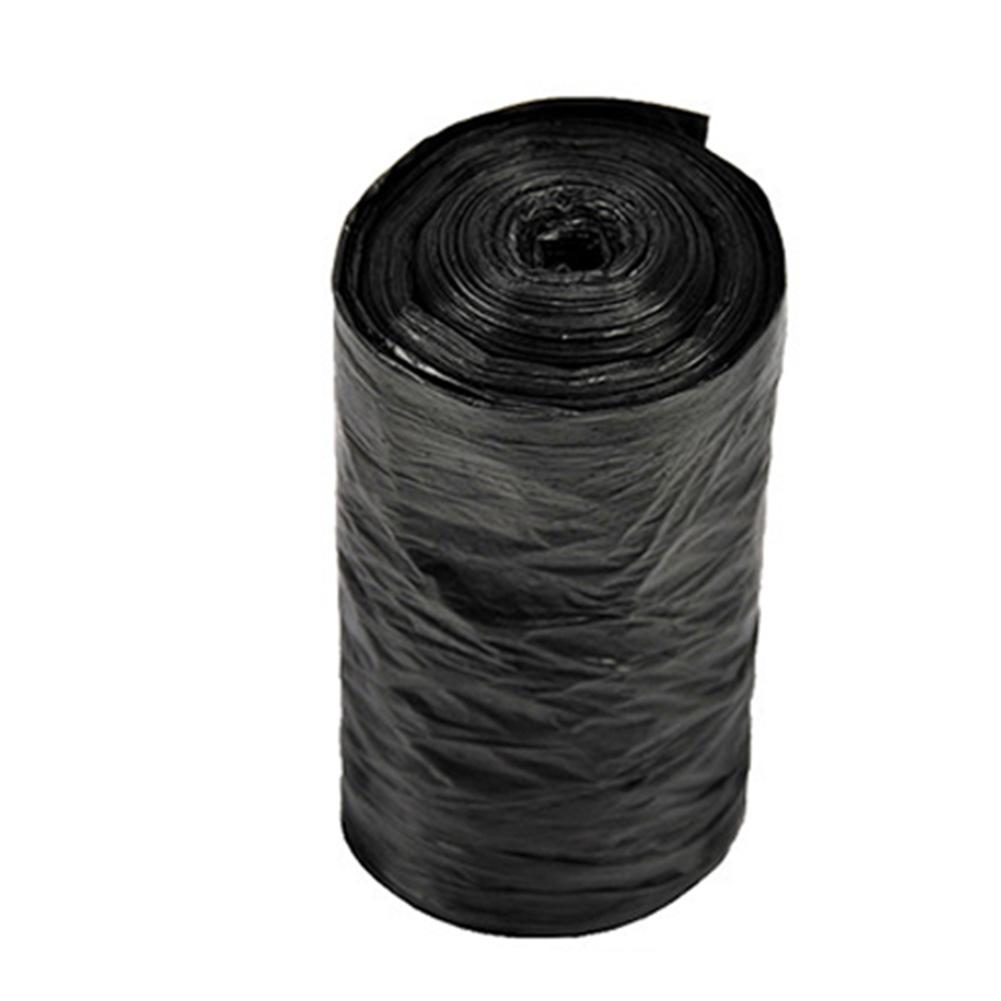 1 Roll 50x60cm Small Black Kitchen Garbage Bag Household Points Off Trash Can Bin Rubbish Disposable Plastic Bags