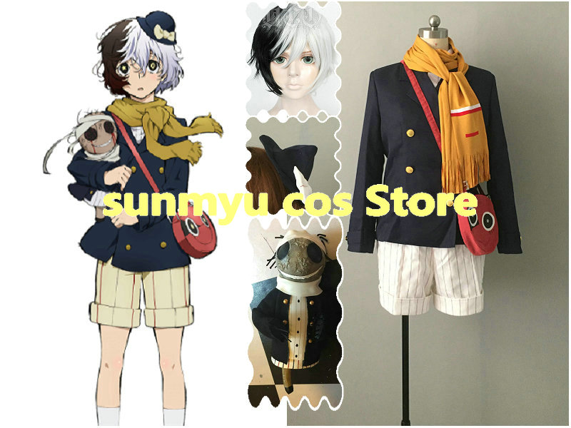 Free Shipping!Bungo Stray Dogs Yumeno Kyusaku Cosplay Costume,Custom Size Halloween