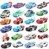Oryginalny Disney Pixar 2 metalowe samochody 3 zygzak mcqueen Mater Jackson Storm Ramirez Mc królowa zabawka pixar zabawki dla dzieci prezent