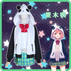 NIJISANJI Gamers Sasaki Virtual Idol Uniforms Cosplay Costume Free Shipping F 1