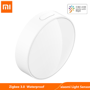 Original xiaomi Mijia Smart Light Sensor Zigbee 3.0 Light Detection Intelligent Linkage Waterproof work With Multimode Gateway