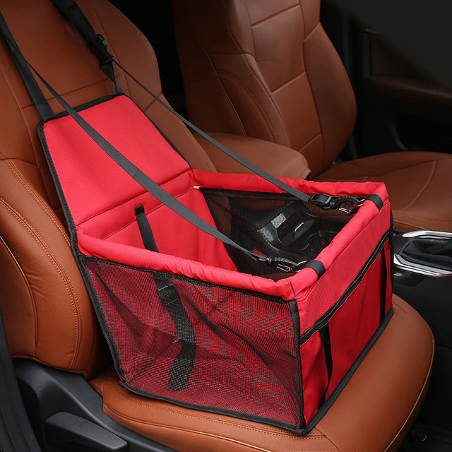 Travel Dog Car Seat Cover Folding Hammock Pet Carriers  3