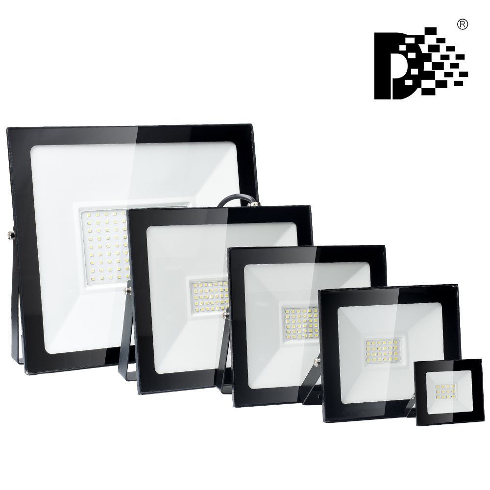 Led Flood Light 220V Outdoor Spotlight 10W 20W 30W 50W 100W Wall Reflector Waterproof IP66 LED Street Lamp Landscape Lighting