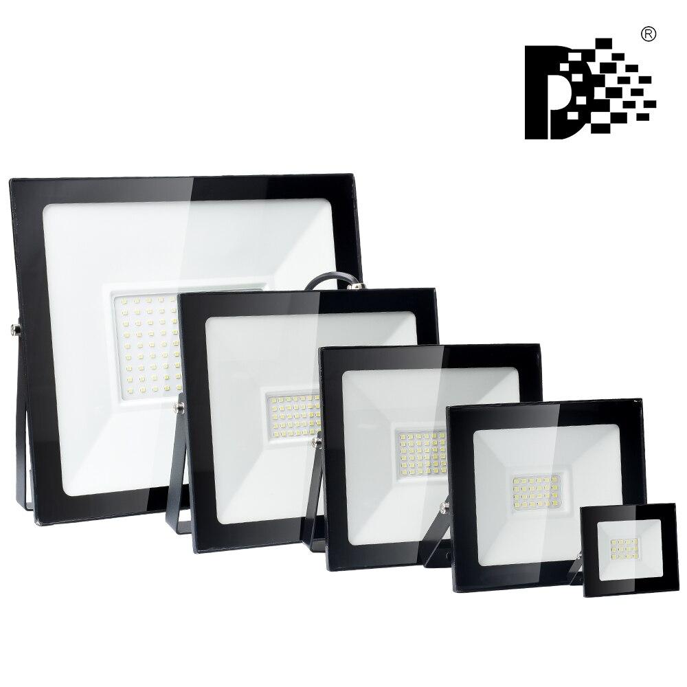 Led Schijnwerper 220V Outdoor Spotlight 10W 20W 30W 50W 100W Muur Reflector Waterdicht IP66 LED Straat Lamp Landschap Verlichting