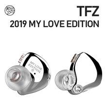 Наушники вкладыши TFZ, 2 магнитных контура, движущаяся катушка, серия Mylove, музыкальные наушники с усиленными басами и качеством звука, 55 Ом
