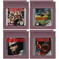 16 Bit Video Game Cartridge Console Card for Nintendo GBC Residen Evil Series English Language Edition