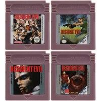 16 Bit Video Game Cartridge Console Card voor Nintendo GBC Residen Evil Serie Engels Taal Editie