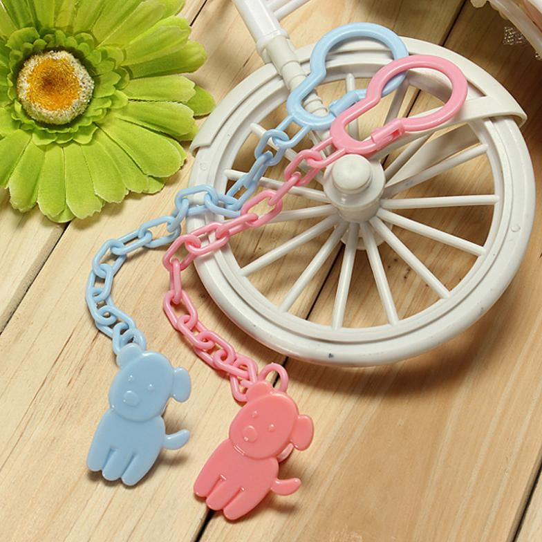 Baby Infant Dummy Pacifier Soother Chain Clip Holder Toddler Toy Gift Free Shipping Baby & Kids